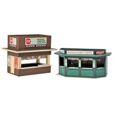 Walthers, Inc. Newsstands Kit