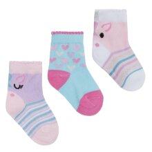 Babies 3 Pack of Unicorn Design Socks