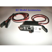 RC Switch Futaba Connector On- Off with Spare Male Plug Heavy Duty Good Quality