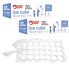 60pk Ice Cube Freezer Bags   Can Make 1,600 Ice Cubes