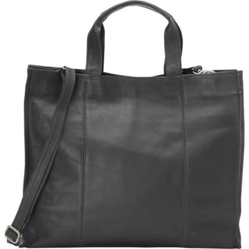 Piel Leather 3091 - BLK Carry - All Tote - Black