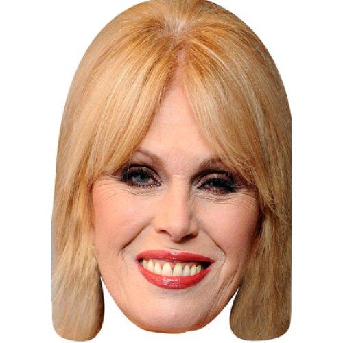 Joanna lumley celebrity face party face fancy dress
