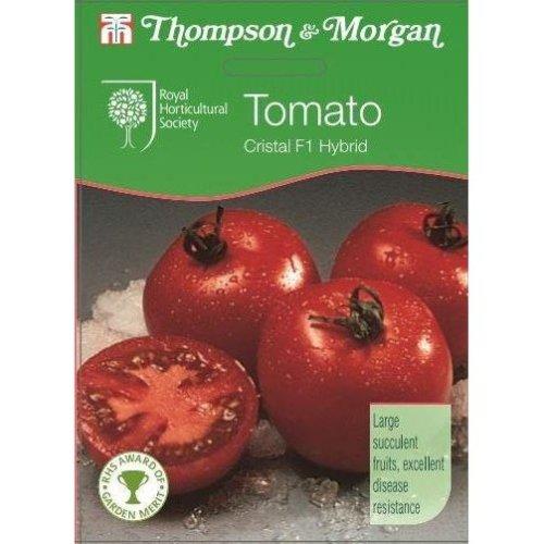 Thompson & Morgan - RHS Vegetables - Tomato Cristal F1 - 6 Seed