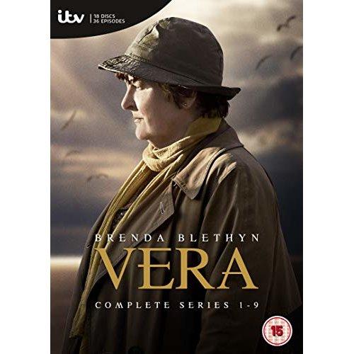 Vera Series 1 to 9 DVD [2019]