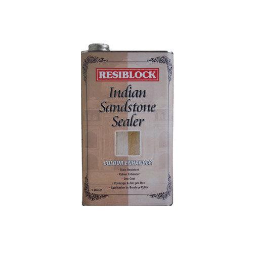 Everbuild RBINDENH5 Resiblock Indian Sandstone Sealer Colour Enhancer 5 Litre