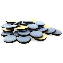 PTFE Teflon Furniture Glides - Self Adhesive - Various Sizes by Lifeswonderful®