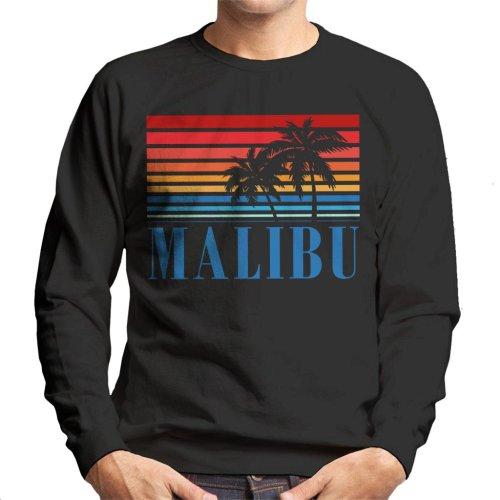 Malibu Retro 70s Sunset Men's Sweatshirt