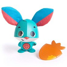 Tiny Love Wonder Buddy Thomas Rabbit, Interactive Baby Learning Toy for 1 Year Old, 2 Year Old and 3 Year Old Children, 12m +