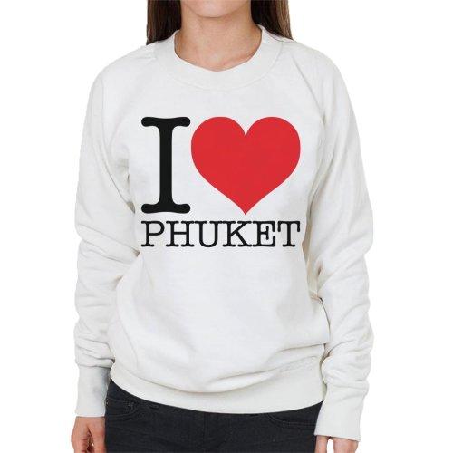 I Love Phuket Women's Sweatshirt