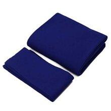 Amusingtao Billiard Table Felt Pool Cloth, Snooker Indoor Sports Game Table Cloth with 6 Cushion Cloth Strip for 7/8/9 Foot Billiard Pool