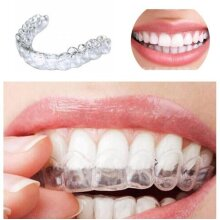 Anti Snoring Bruxism Sleeping Mouth Night Guard Gum Shield Mouth Tray