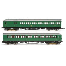 HORNBY Loco R3699 BR 2-HIL Unit 2611; (HAL) DMBT No. 10729 and (BIL) DTC(L) No