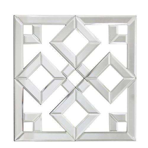 40cm Cut Mirror Geo Wall Art