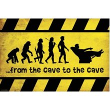 Poster - Man Cave - Cave to Cave Wall Art Licensed Gifts Toys 241175