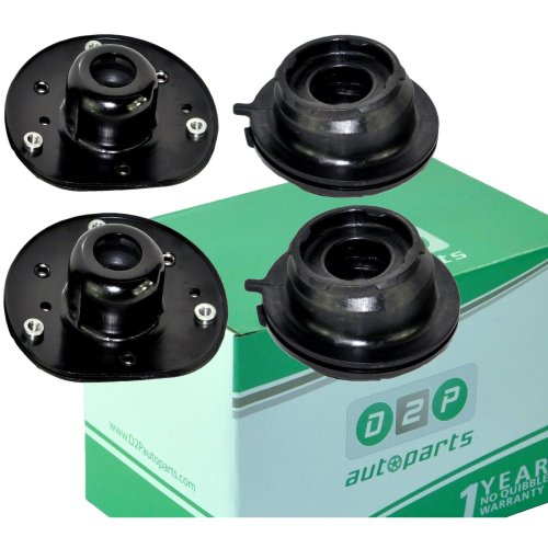 FOR FORD MONDEO MK4 S-MAX GALAXY FRONT SUSPENSION TOP STRUT MOUNTS & BEARINGS x2