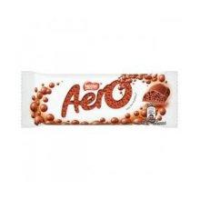 Aero Bubbly Bar Milk (24 x 36GM)