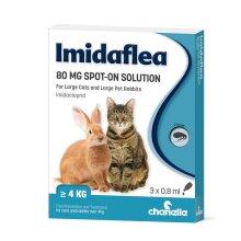 ImidaFlea for Large Cats & Large Rabbits 80mg