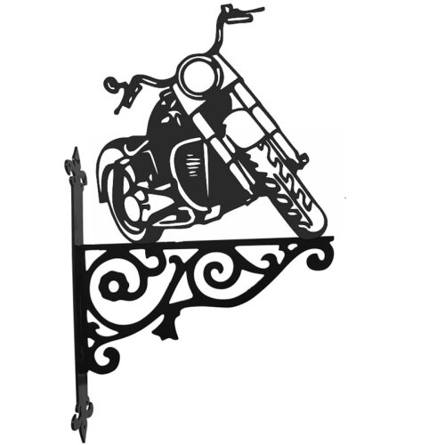 Harley Davidson Ornamental Hanging Bracket