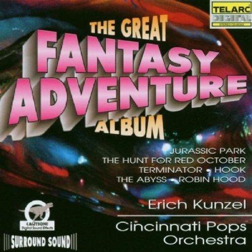 Cincinnati Pops Orch/kunzel - Great Fantasy Adventure Album [CD]