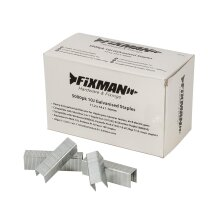 Fixman 10J Galvanised Staples 5000-Pack  ( 11.2 x 14 x 1.17mm ) ( UK )