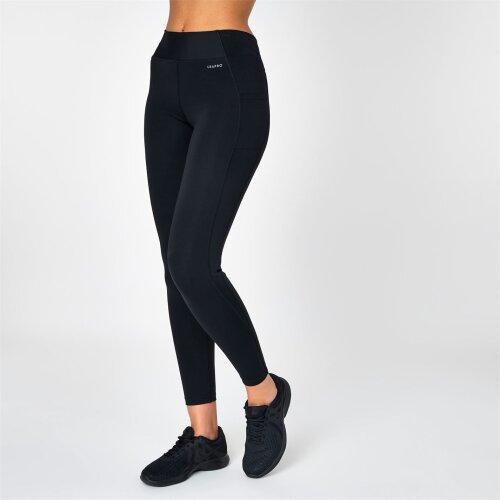 USA PRO Mid Rise Black Tight Leggings Size 18 (XXL)
