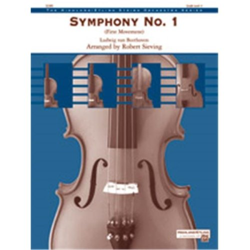 Alfred 00-38495 BEETHOVEN-SYMPHONY NO.1-HSO
