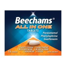 Beechams All In One Tablets 16 Tablets
