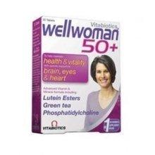 Vitabiotics - Wellwoman 50+  30 VTabs