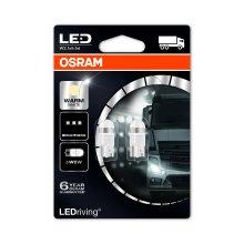 Osram 2824WW-02B LEDriving LED Retrofit W5W 24V Interior Lights 4000K, Warm White, Double Blister