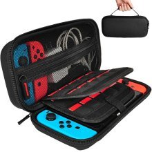 Nintendo Switch Case with 20 Game Cartridges, Hard Shell Travel Carrying Case