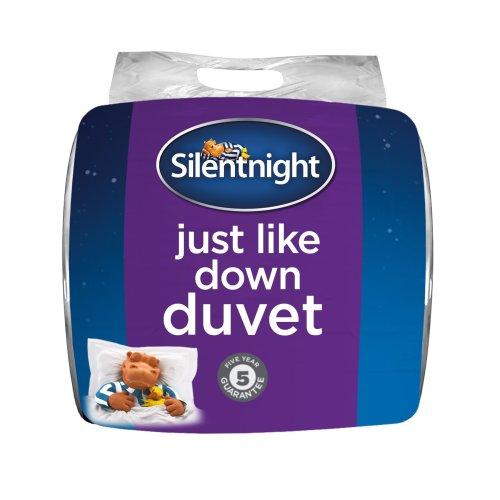 Silentnight Just Like Down 13.5 Tog Duvet, Single