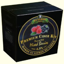 Bulldog Brews Mixed Berries Cider Kit 3kgs makes 23L 40 pints