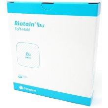 Biatain IBU Soft Hold Dressing x 5     Flexible Absorbent Foam - 10cm x 12cm x 5