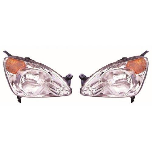 Honda Cr-v 2001-2003 Headlights Headlamps 1 Pair O/s & N/s