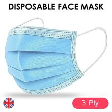 Surgical Face Mask 3-Ply Disposable