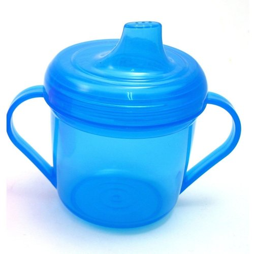 Griptight 6+ Trainer Cup Easy Grip Handles 180ml (Blue)