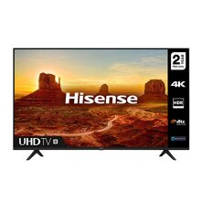HISENSE 43A7100FTUK 43-inch 4K UHD HDR Smart TV with Freeview play, and Alexa Built-in (2020 series) - Refurbished