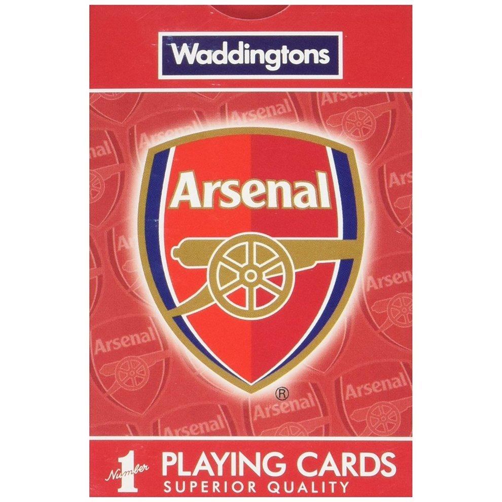 Arsenal FC Waddingtons Number 1 Playing Cards
