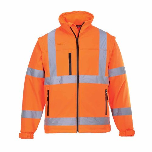 sUw - Hi-Vis Safety Workwear Softshell Workwear Jacket (3L)