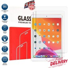 (2 Pack) Anti Shatter Anti Fingerprint Anti Scratch 9H HD Tempered Glass Screen Protector For Apple iPad 9.7 6th Generation (2018) / 5th Gen (2017)