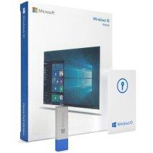 Microsoft Windows 10 Home Box Pack   USB Flash Drive   English   32/64-bit