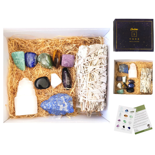 Healing Crystals - 11 Piece Calm Crystal Set