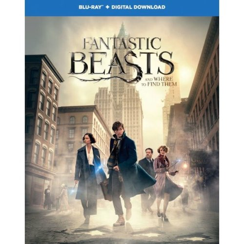 Fantastic Beasts And Where To Find Them Blu-Ray [2017]