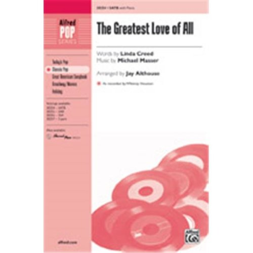 Alfred 00-38258 GREATEST LOVE OF ALL-STRX CD