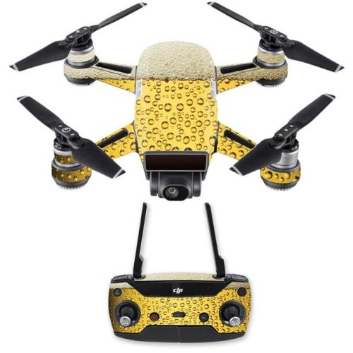 MightySkins DJSPCMB-Beer Buzz Skin Decal for DJI Spark Mini Drone Combo Sticker - Beer Buzz