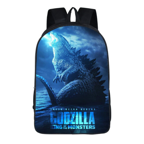 (#12) Godzilla: King of the Monsters Backpack School Bag
