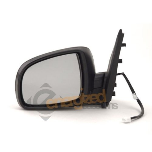 Nissan Note 2006-2010 Electric Wing Door Mirror Primed Cover Passenger Side