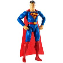JUSTICE LEAGUE GDT50 Superman True-Moves Action Figure with 11 Points of Articulation, Multicoloured, 12 Inch Scale