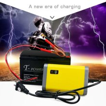 Car Battery Charger Motorcycle Accessory 12v 2a Automatic Power Supply