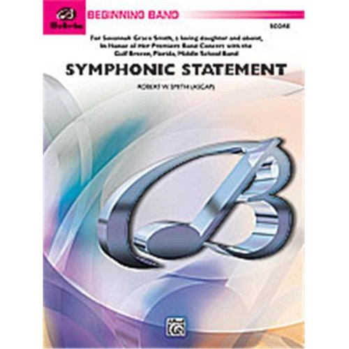 Alfred 00-24702 SYMPHONIC STATEMENT-BBB SET4D